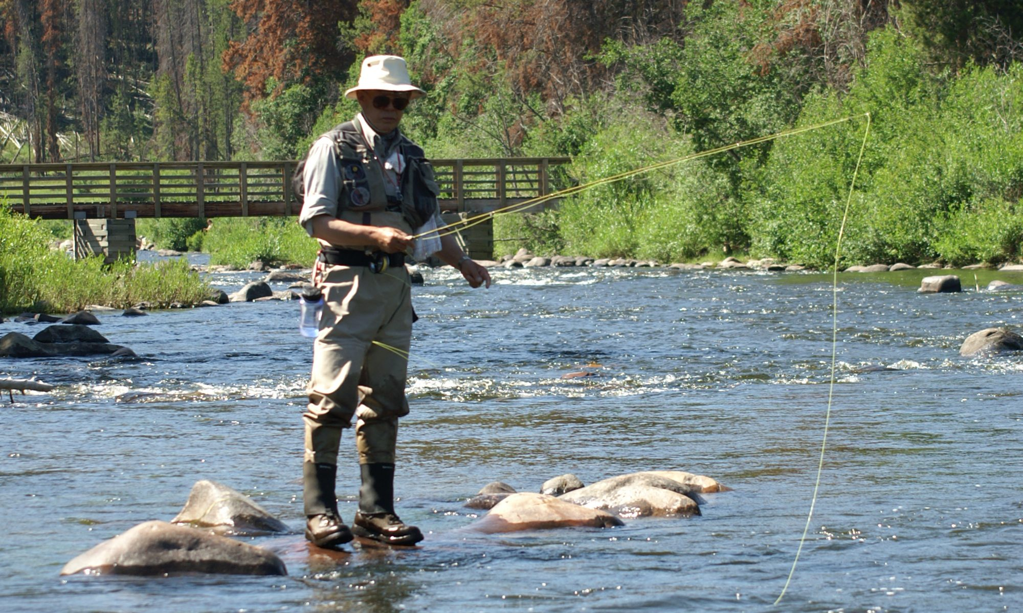 One Fly Fisherman